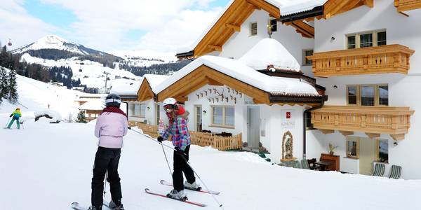 Hotel on the slopes